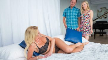 Moms Bang Teens Jennifer Best & Kalra Kush in Only The Best with Van Wilde 6