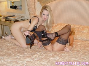 Naughty Allie in My New Girlfriend Hunter 46