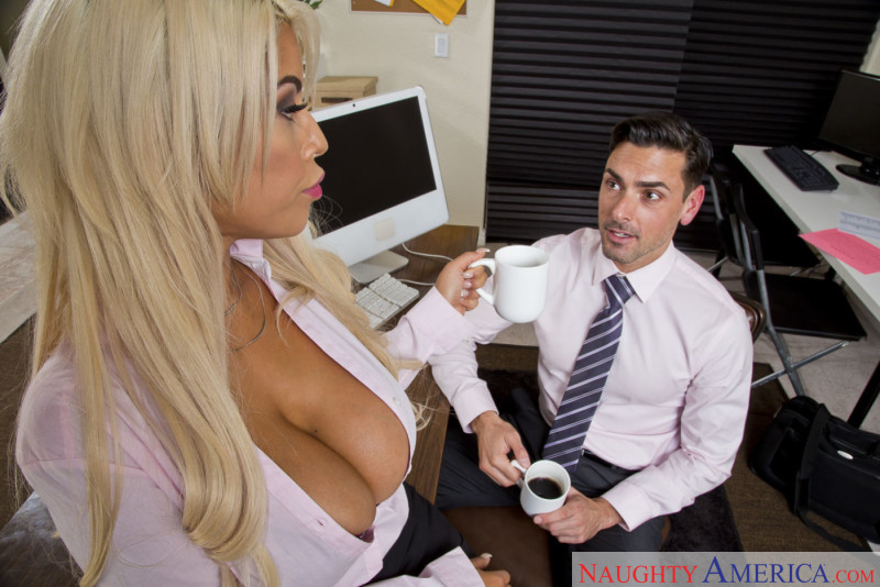 Something Naughty office sex think, that